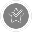 Courage icon grayscale